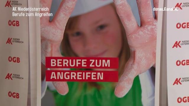 """AK Niederösterreich . Messe """"Berufe zum Angreifen"""""""