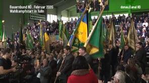 Bauernbund NÖ . Wahlkampfauftakt in Tulln 2020