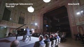 "Laxenburger Schlosskonzerte . ""Bach Solo"""