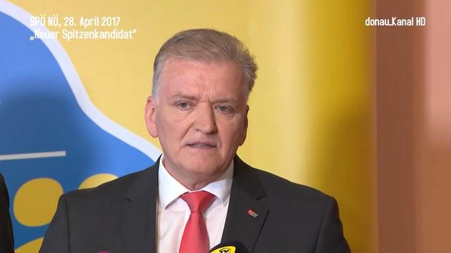 SPÖ NÖ präsentiert neuen Spitzenkandidaten