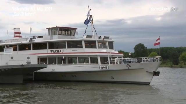Volkshilfe NÖ . Jubiläumsschifffahrt 2017