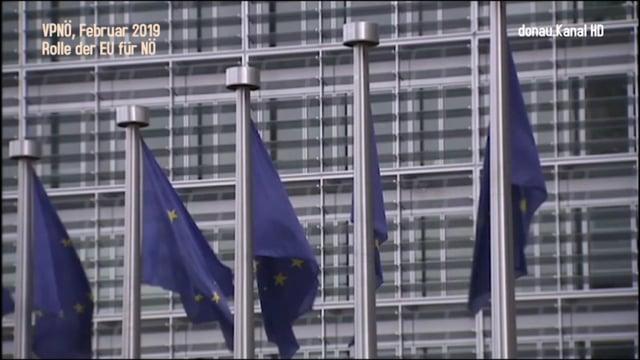 VPNÖ . Die Rolle der EU für NÖ
