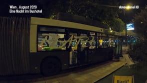 Wien . Eine Nacht im Buslabor